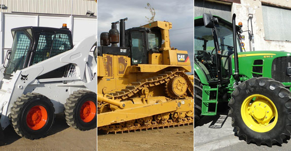 Heavy equipment manufacturers such as Bobcat, Caterpillar and John Deere have a reputation for producing equipment that stands the test of time