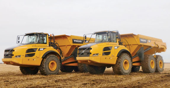 Articulated Dump Trucks in Lethbridge