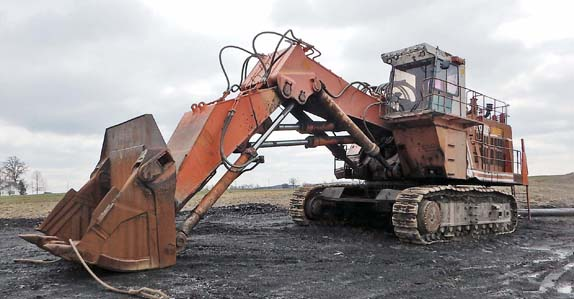 Photo gallery: big iron at our Hazard, KY mining equipment