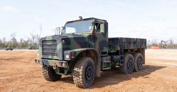 MTVR seven-ton cargo truck will be sold by GovPlanet